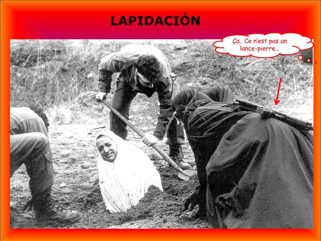 LAPIDACIÓN