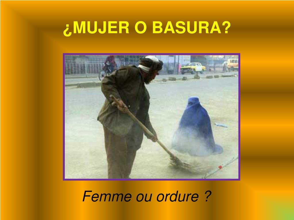 ¿MUJER O BASURA?