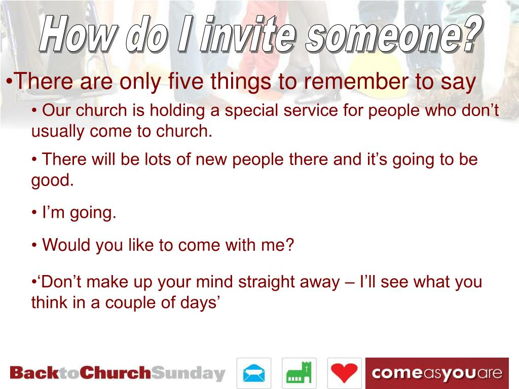 How do I invite someone?