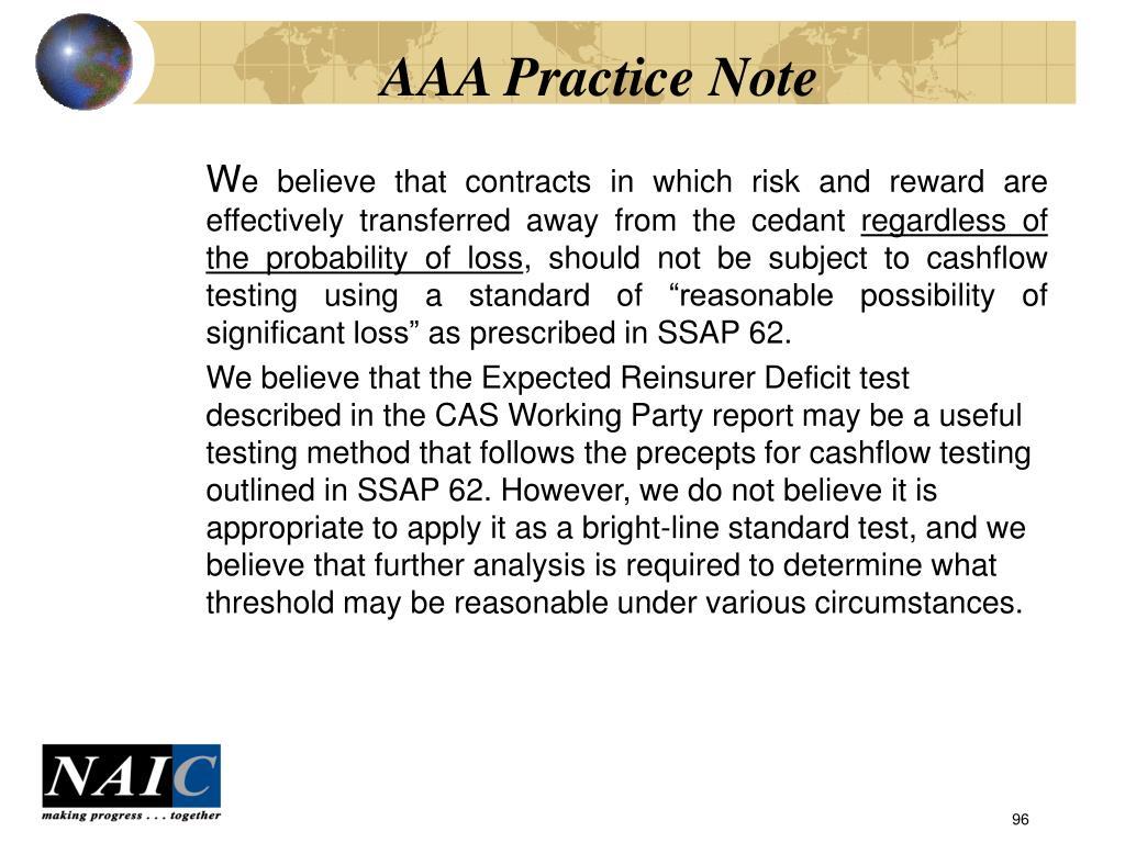 AAA Practice Note