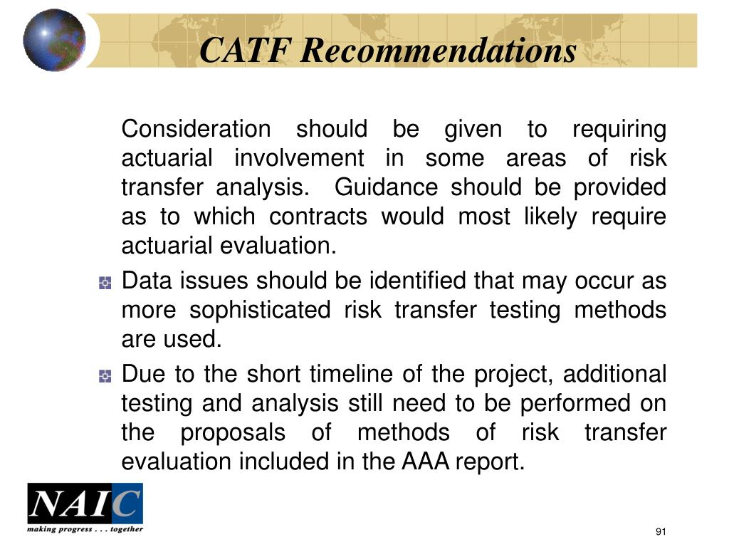 CATF Recommendations