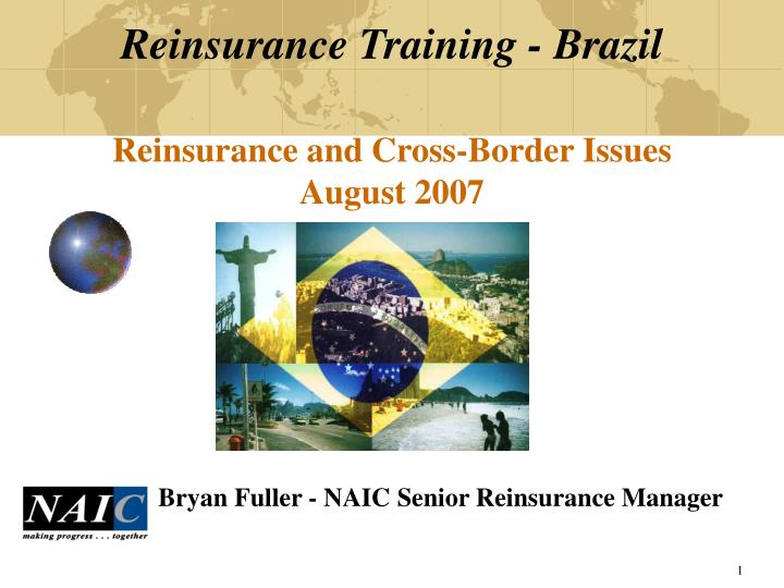Reinsurance training brazil