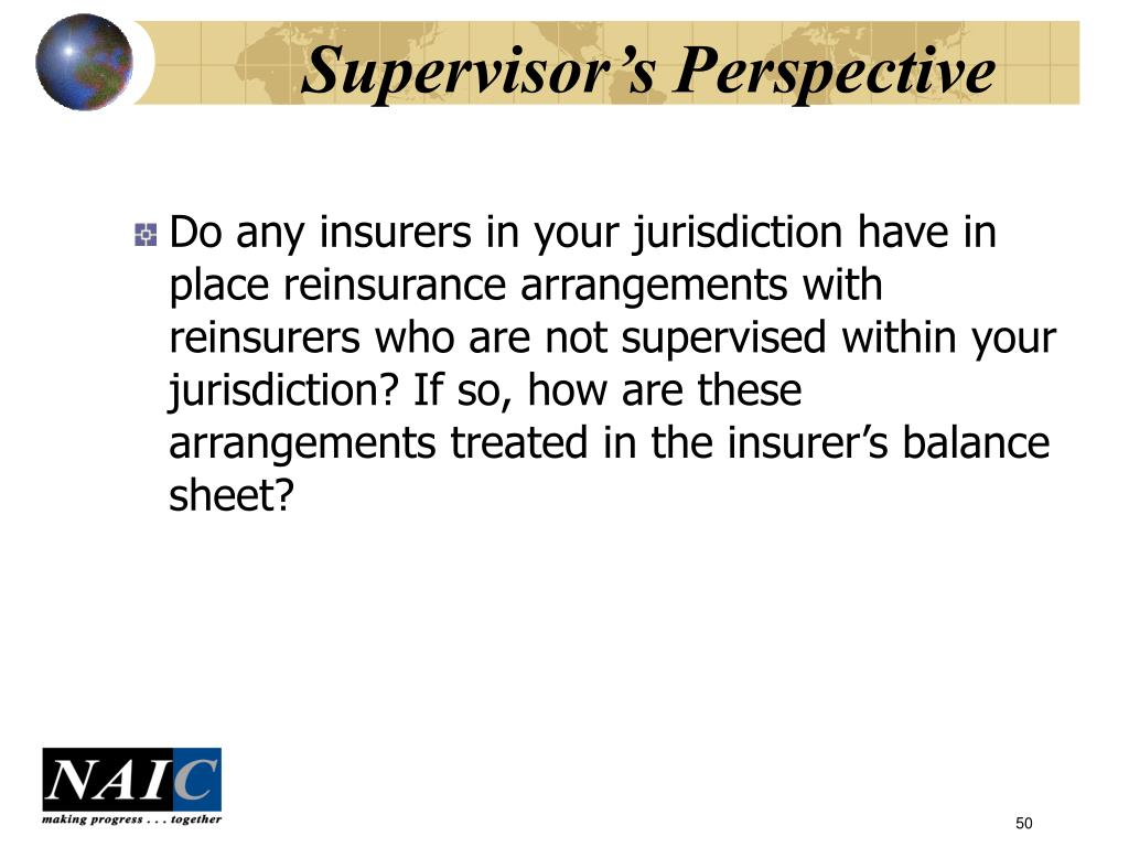 Supervisor's Perspective