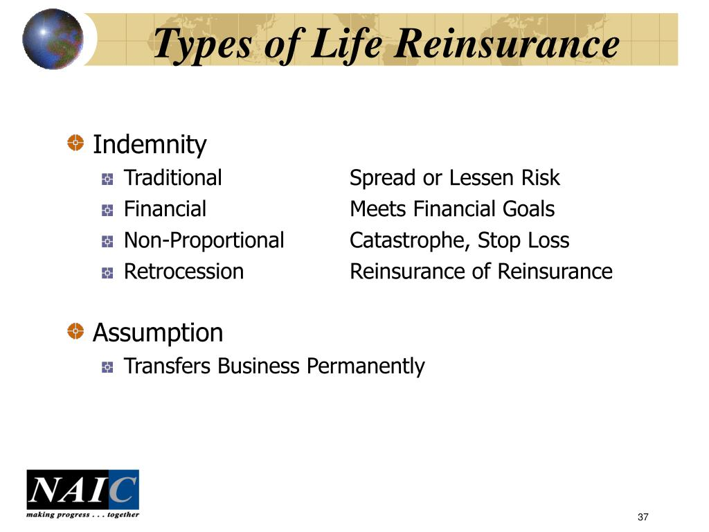 Types of Life Reinsurance
