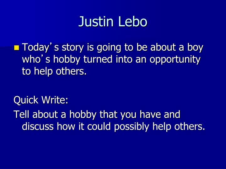 Justin Lebo