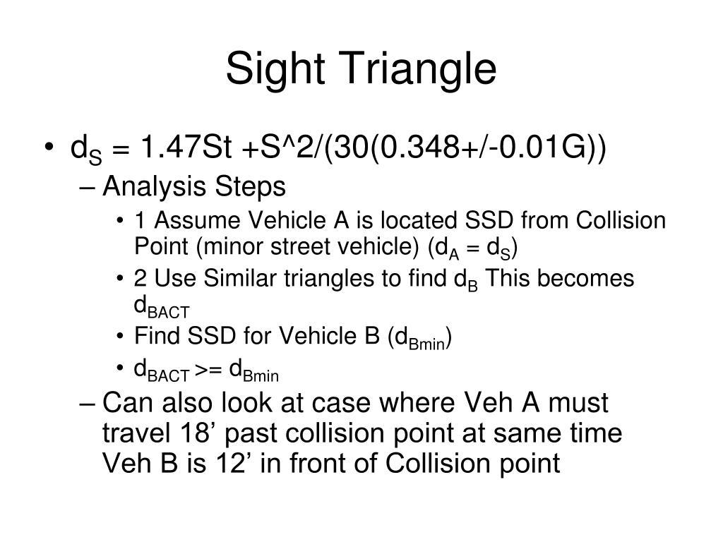 Sight Triangle