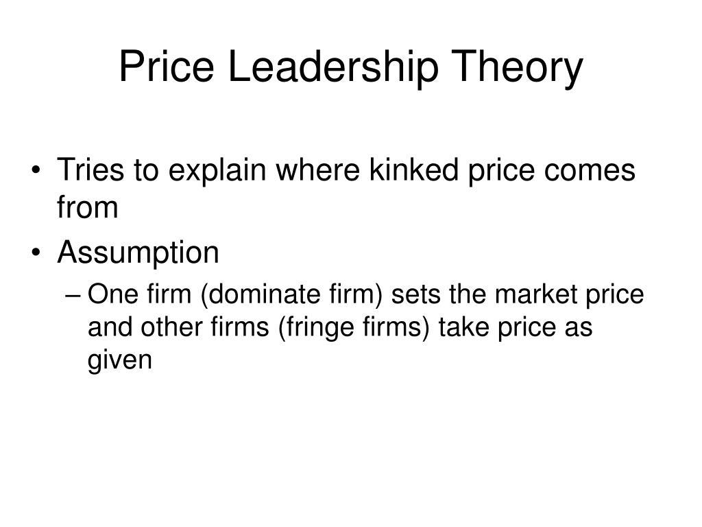 Price Leadership Theory