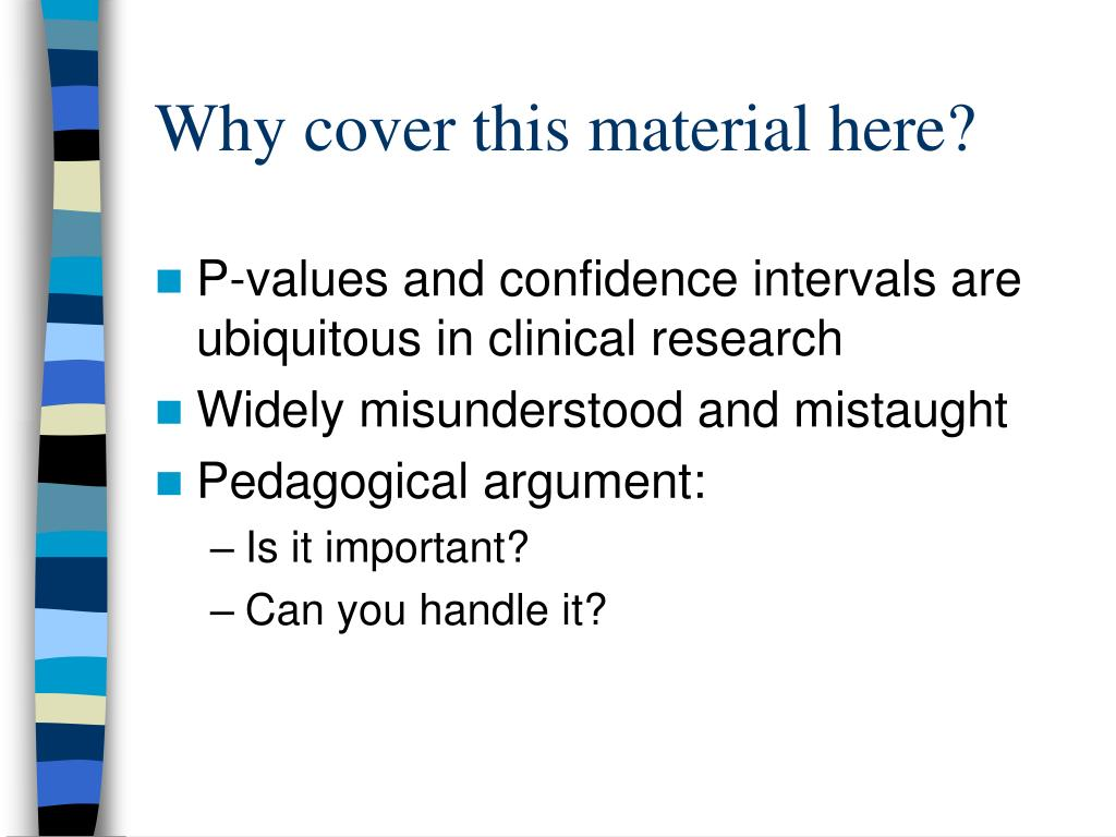 understanding research papers and confidence intervals