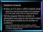 statistical analysis11