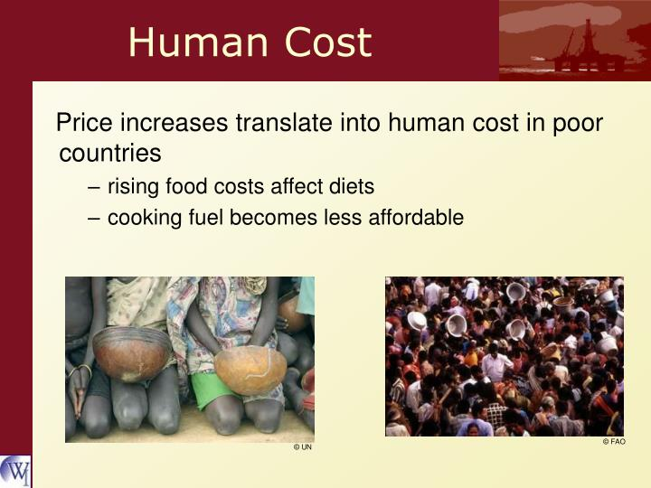 Human Cost