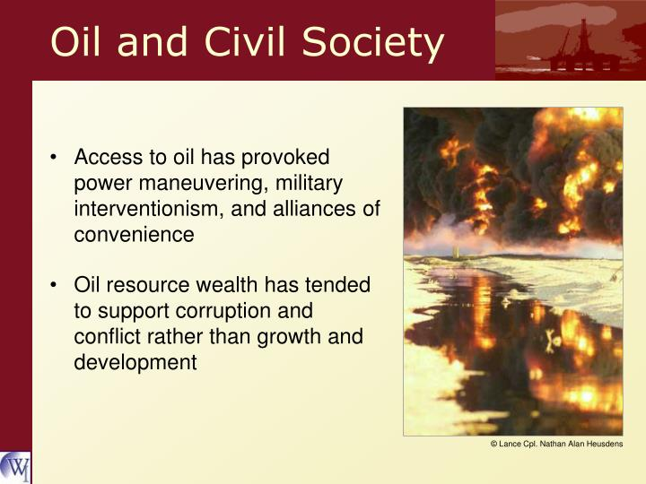 Oil and Civil Society