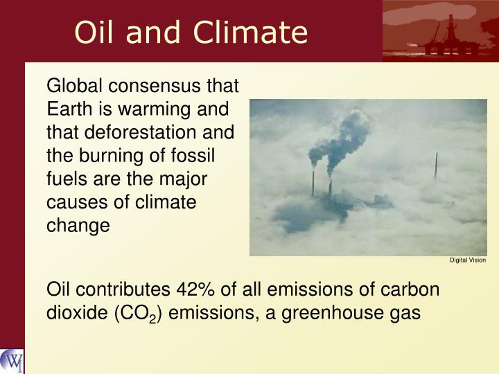 Oil and Climate