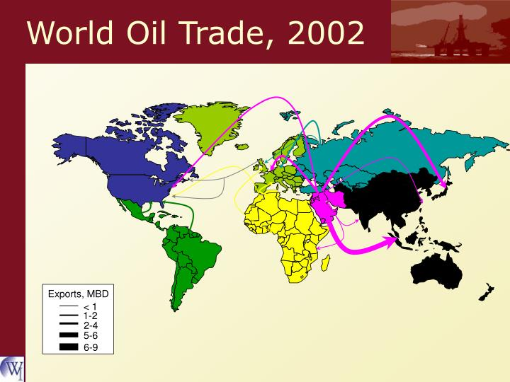 World Oil Trade, 2002