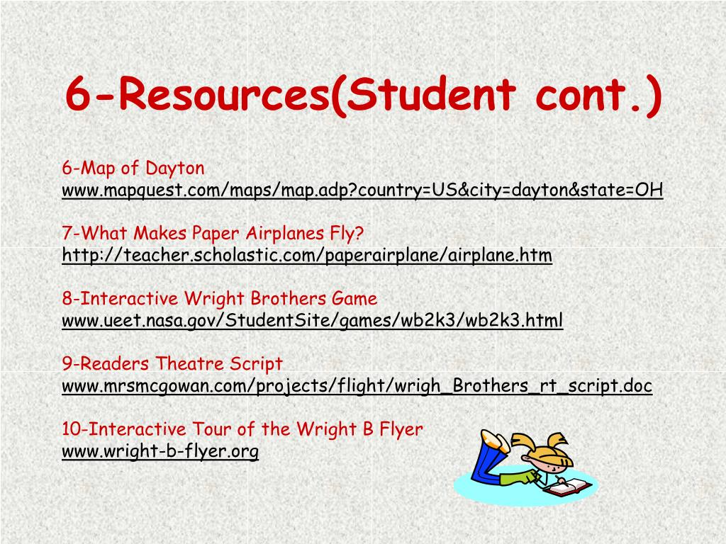 6-Resources(Student cont.)