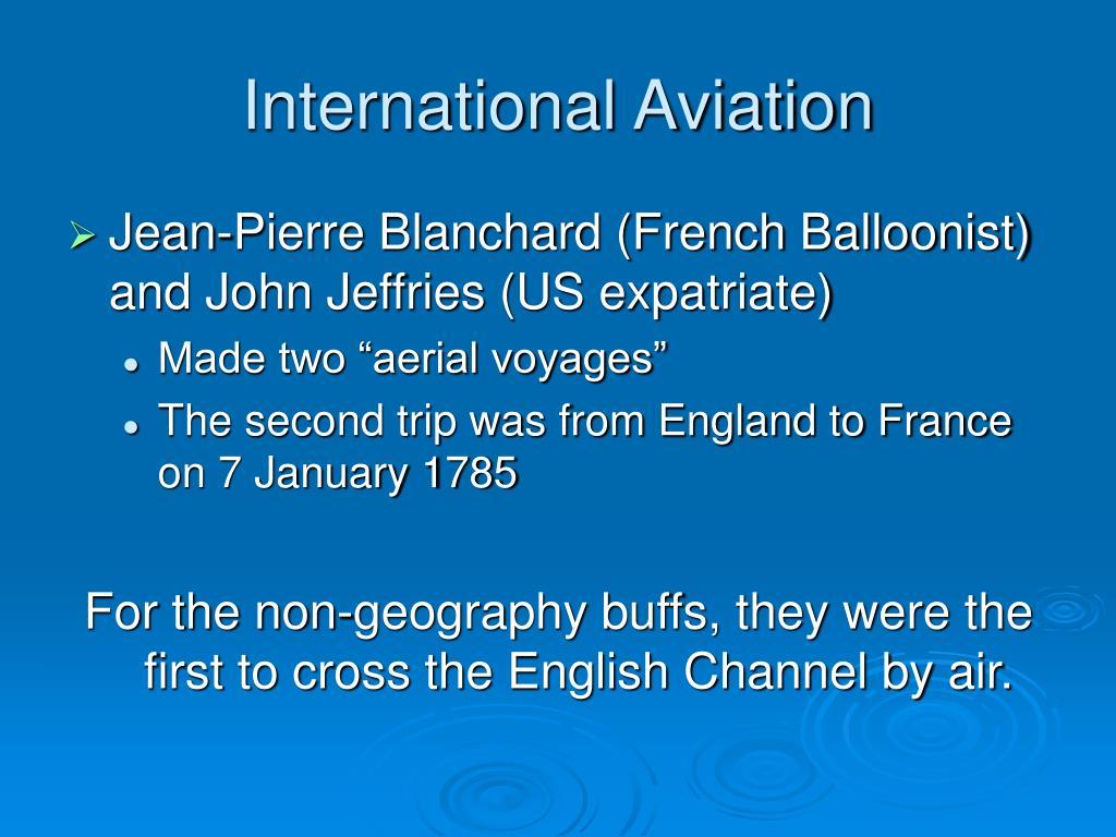 International Aviation