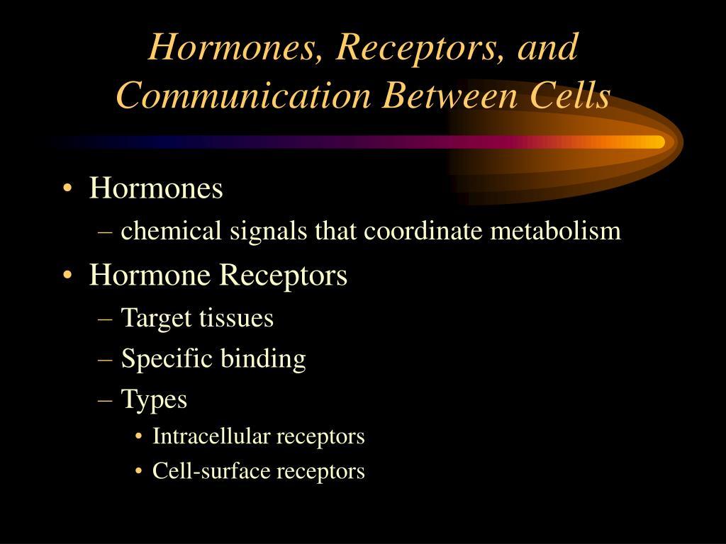 Hormones, Receptors, and Communication Between Cells