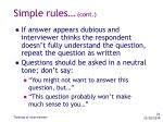 simple rules cont24