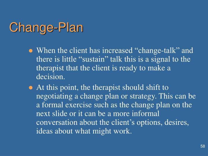 Change-Plan