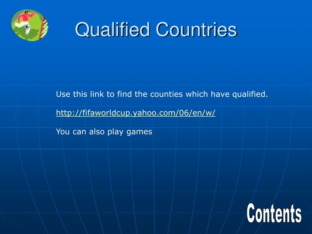 Qualified Countries