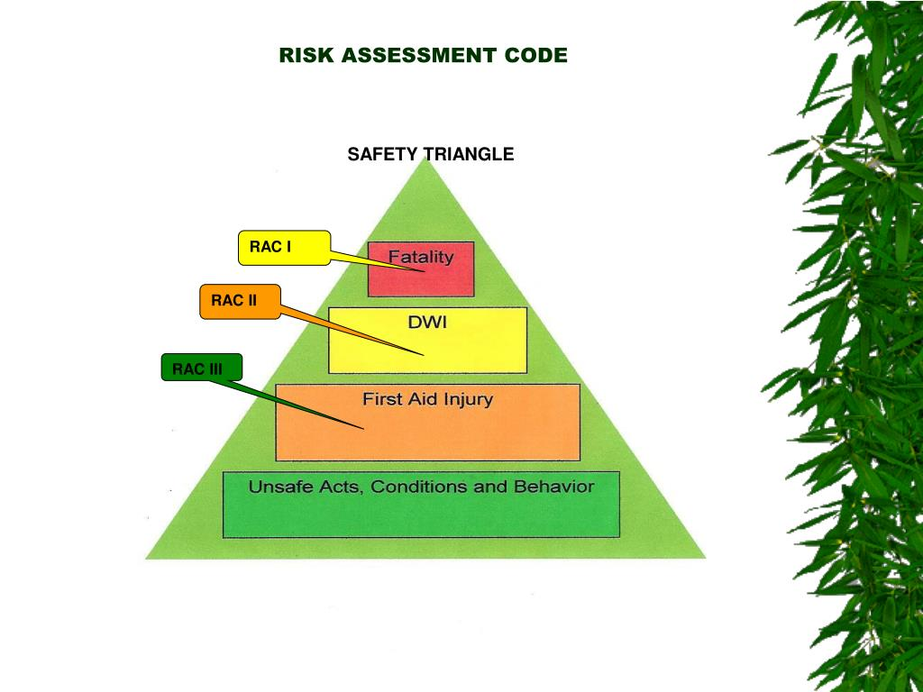 RISK ASSESSMENT CODE