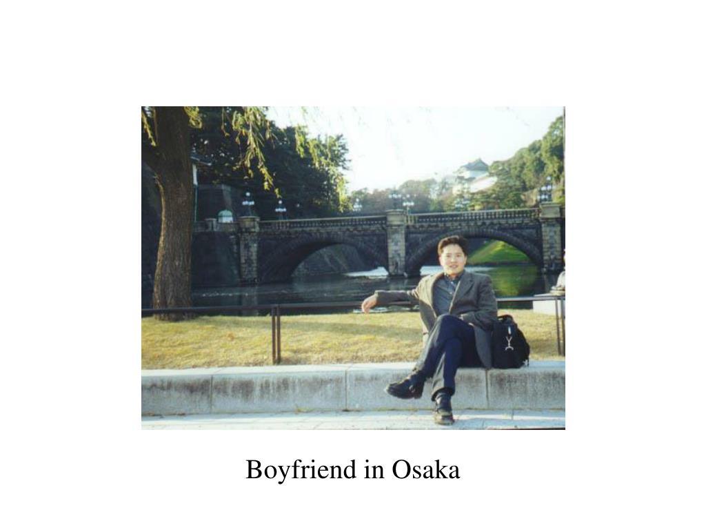 Boyfriend in Osaka