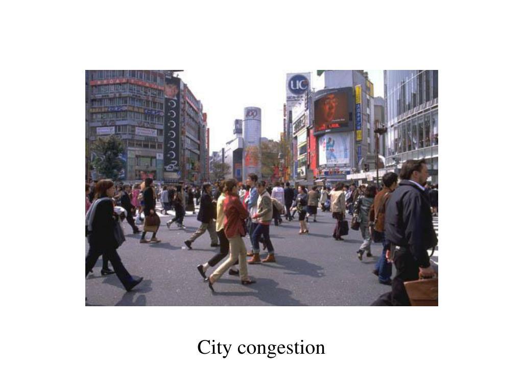 City congestion