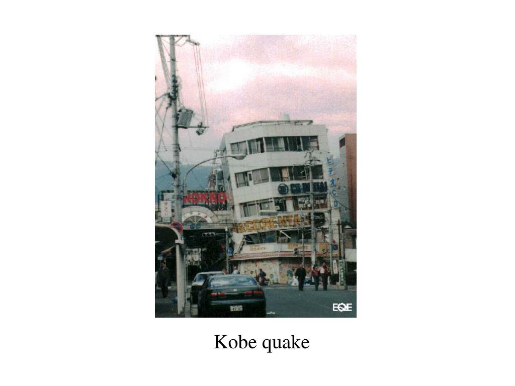 Kobe quake