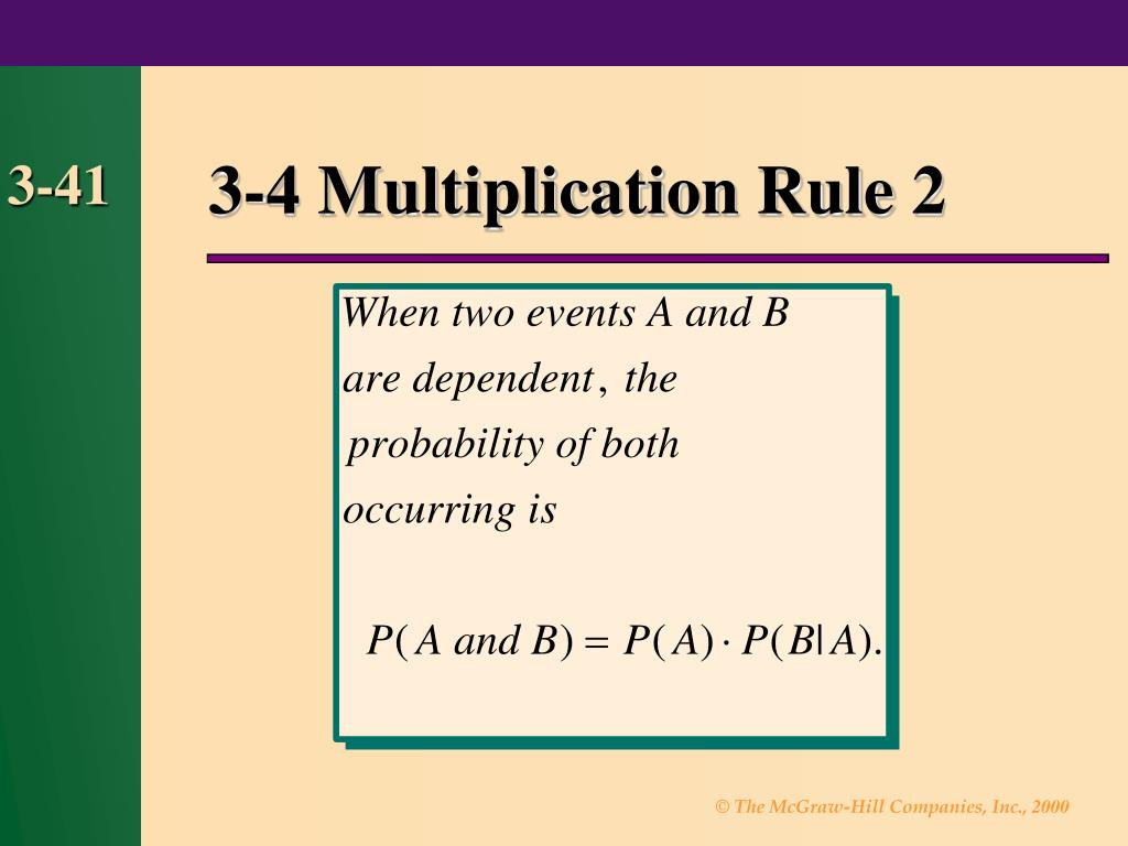 3-4 Multiplication Rule 2