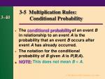 3 5 multiplication rules conditional probability40