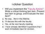 i clicker question68