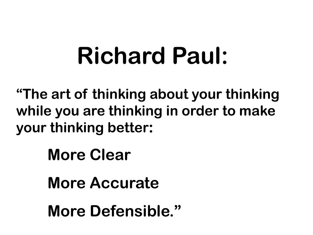 Richard Paul: