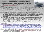 naval babel around lebanon