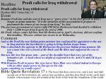 prodi calls for iraq withdrawal