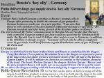 russia s key ally germany