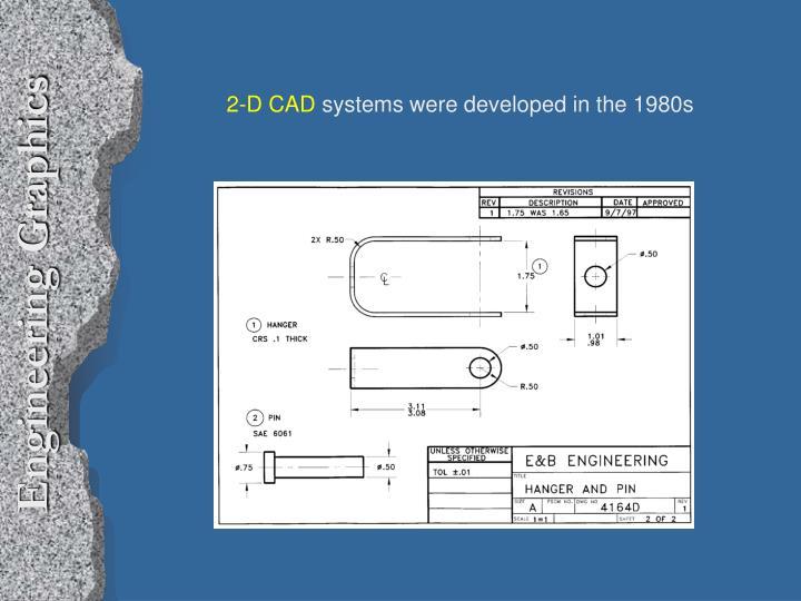 2-D CAD