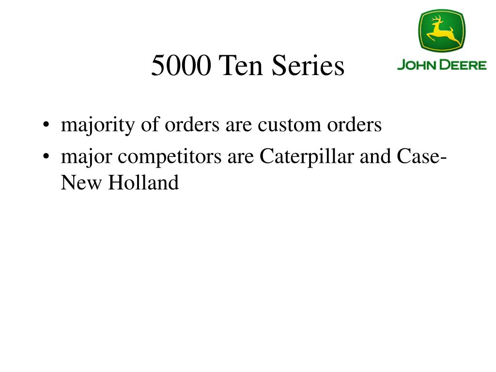 5000 Ten Series