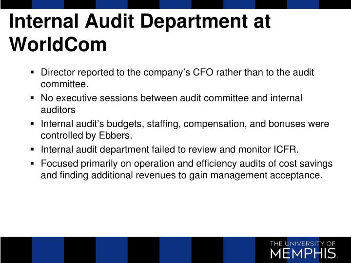 internal audit efficiency In the end, the value of an audit is in the optimization of the internal controls environment streamlining how control deficiencies are to be measured and remediated is a major process improvement if every time there is a problem with the internal control environment the business and audit response varies then you are missing opportunities.