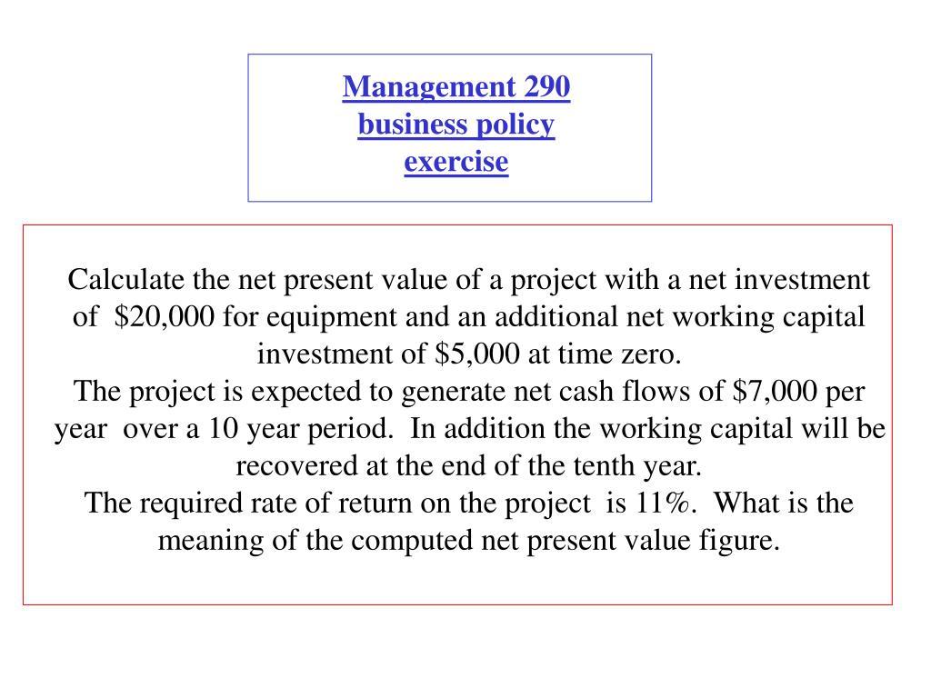 Management 290
