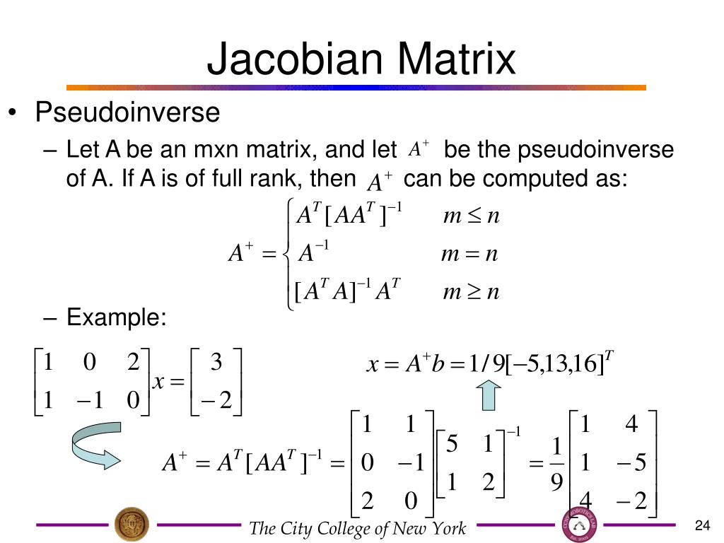 jacobian matrix matlab