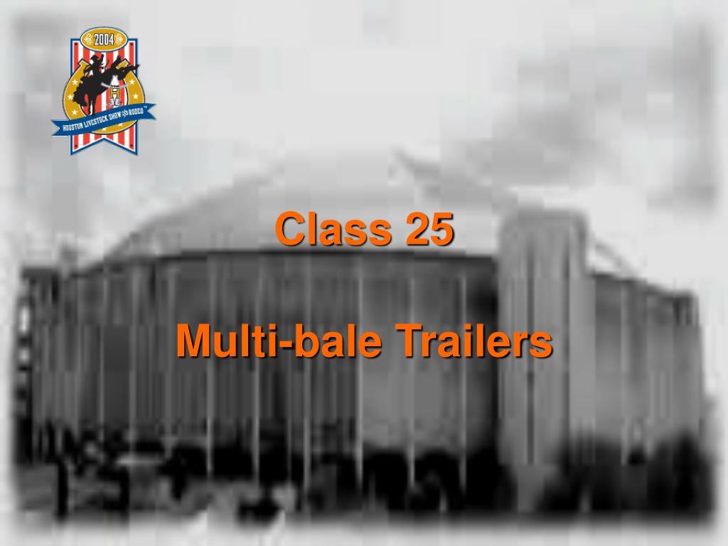 Class 25