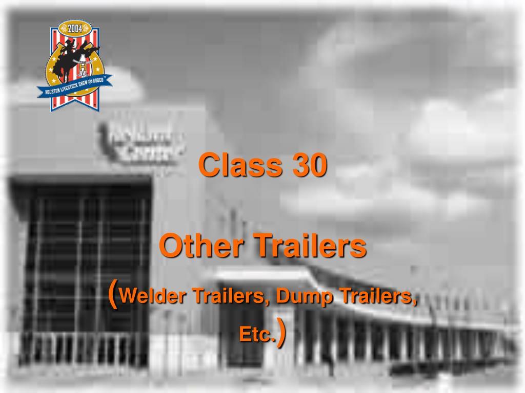 Class 30