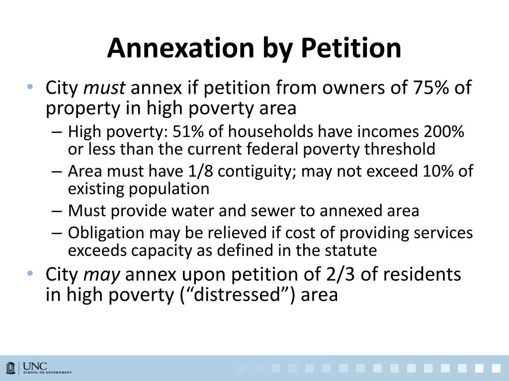Annexation by Petition