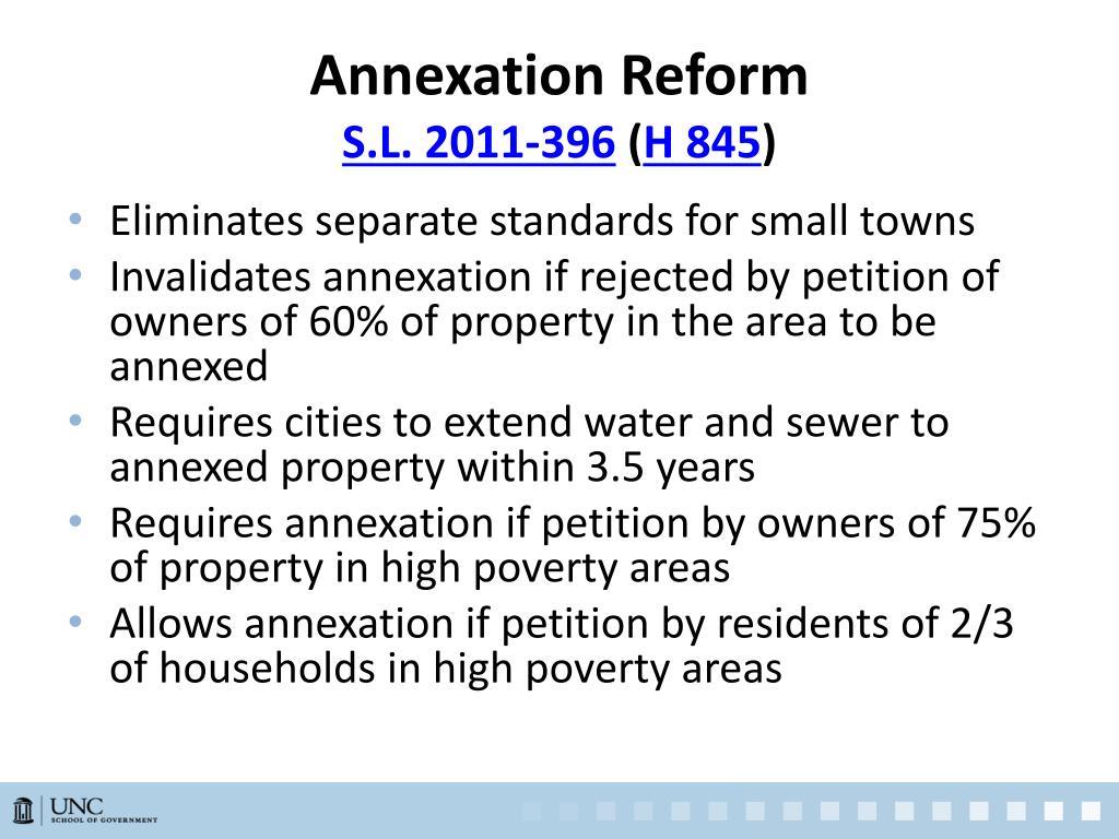 Annexation Reform