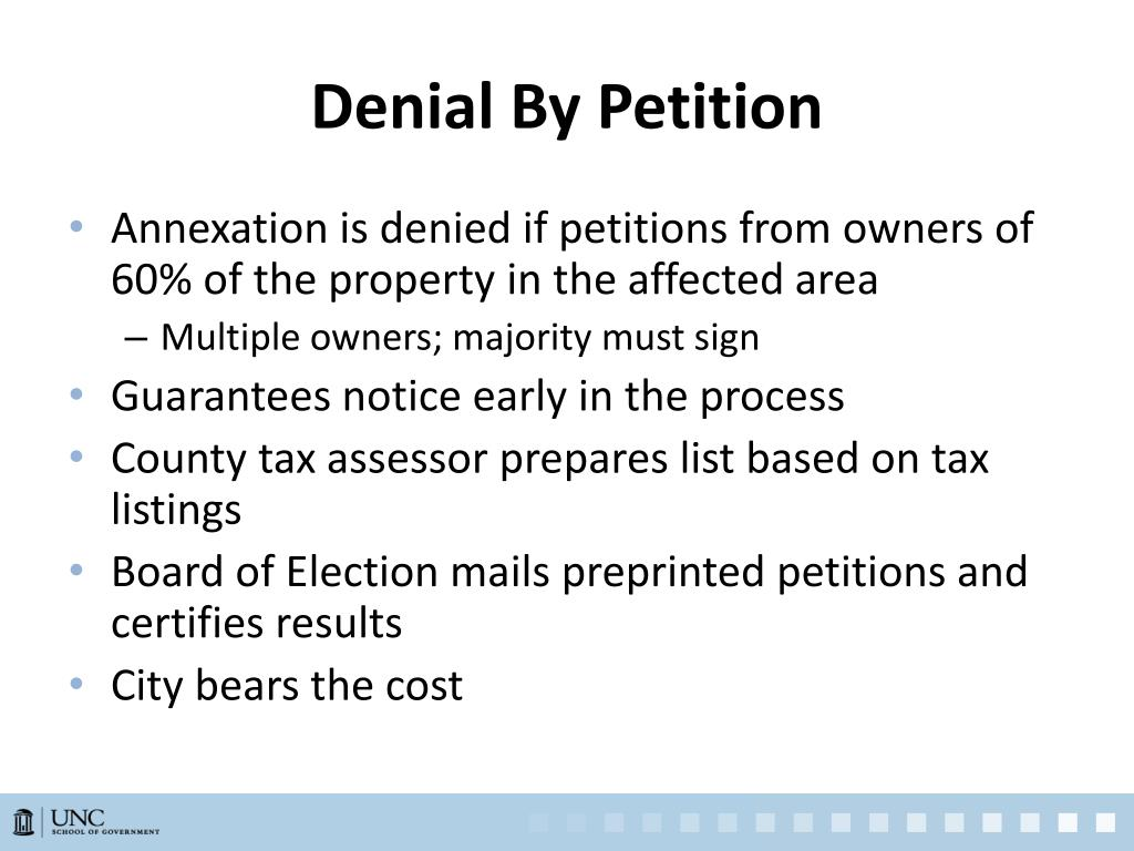 Denial By Petition