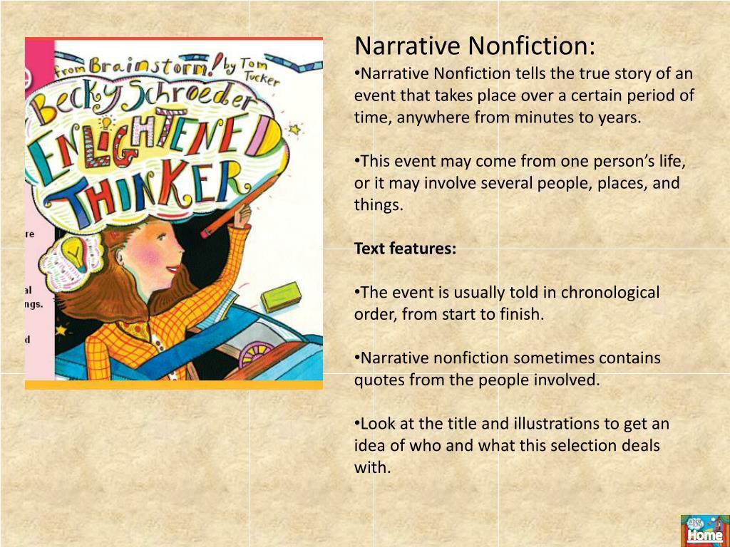 Narrative Nonfiction: