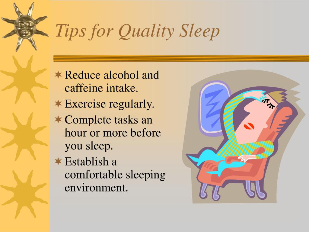 Tips for Quality Sleep