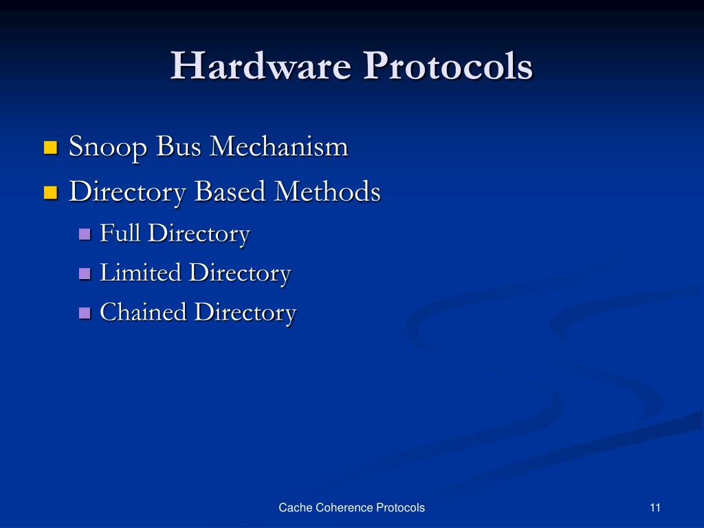 Hardware Protocols