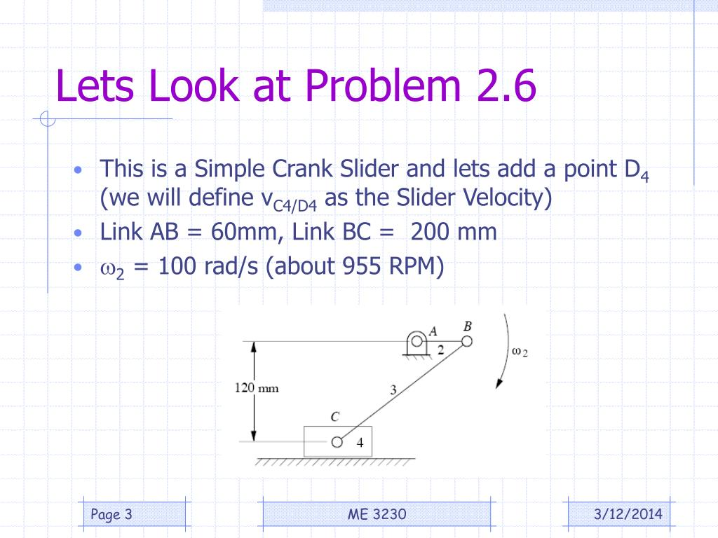 Lets Look at Problem 2.6