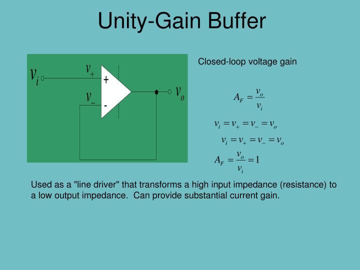 Unity-Gain Buffer