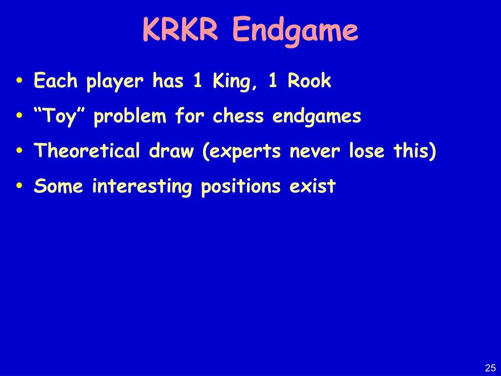 KRKR Endgame